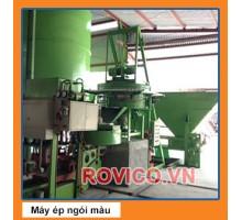 Máy Ép Ngói Xi Măng Màu RVC-3000