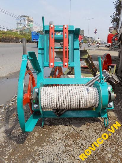 Lưu ý gì khi mua máy tời kéo mặt đất tải cao
