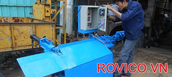 Cung cấp máy uốn đai sắt tự động phi 8