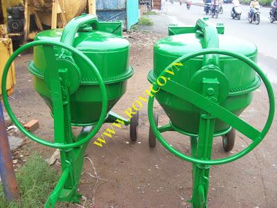 Phân loại các loại máy trộn bê tông trên thị trường xây dựng